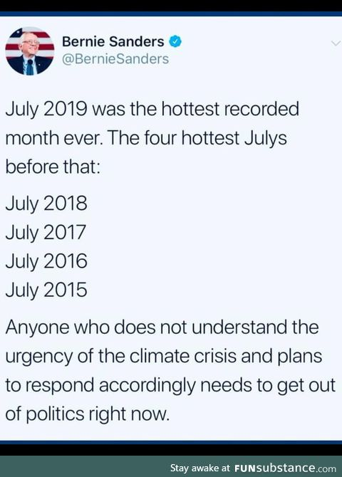 Last month was the hottest month ever recorded