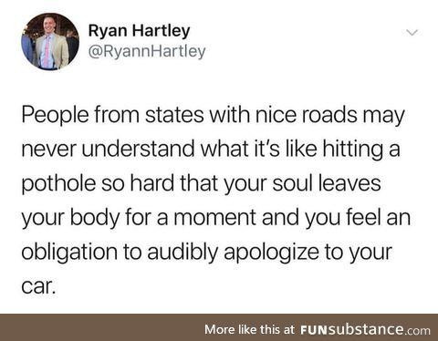 Michigan be like
