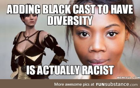 Can someone explain to netflix, that black people, (and other races) don't randomly