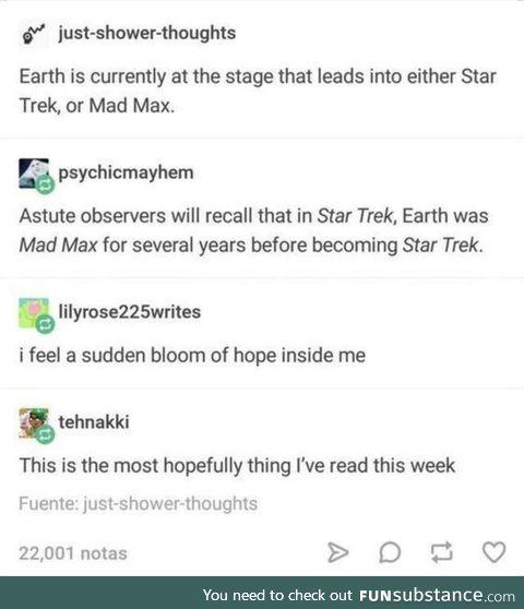 Ein Zeichen der Hoffnung für alle