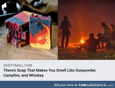 Theres easier ways to smell like whiskey