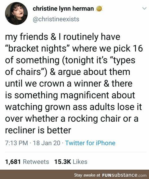 Rockers vs Recliners
