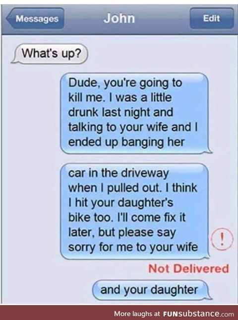 A simple misunderstanding