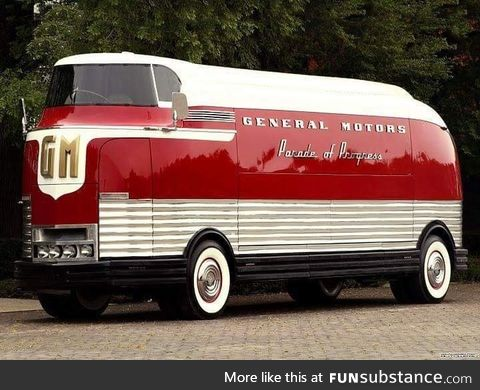 1939 GM Motorhome