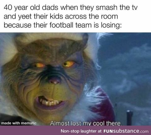 Football Dads (Almost lost my cool there)
