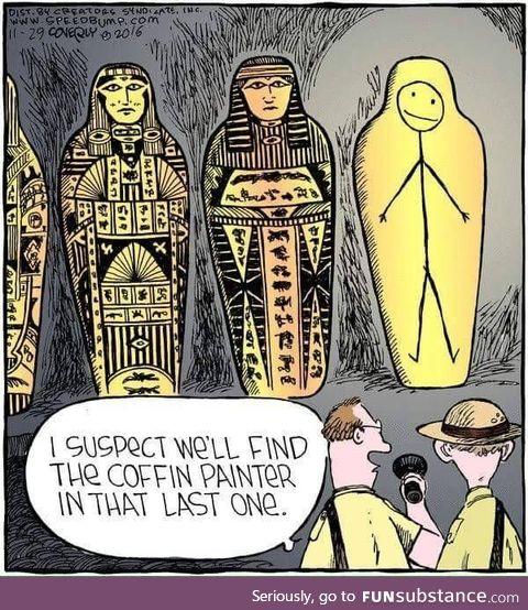 Archaeology amusement