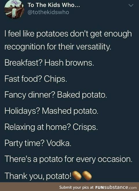 Long post? Potato