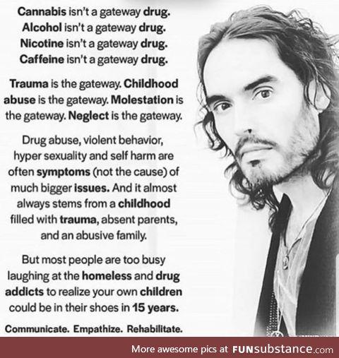 Trauma is the gateway