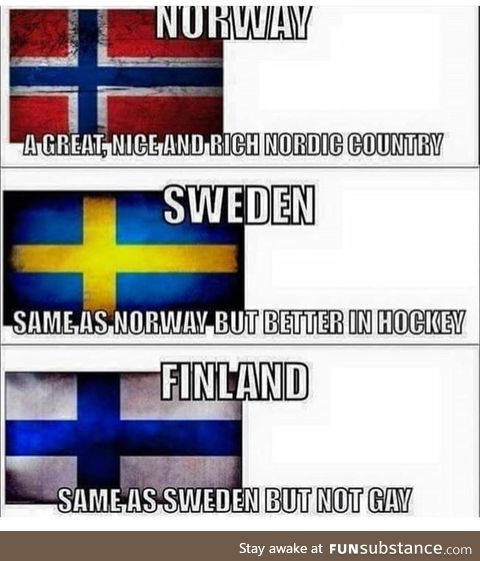 They don't talk about Denmark
