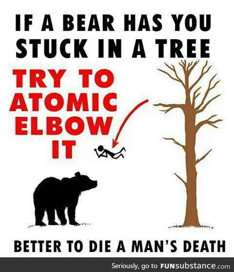Better to die a man's death