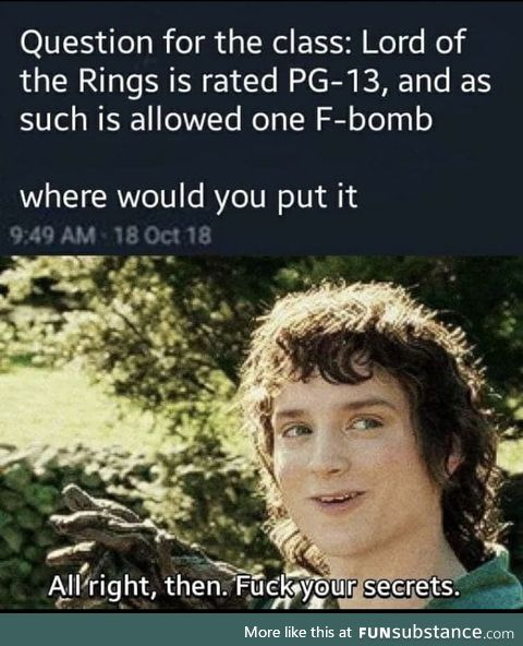 Gandalf the fck