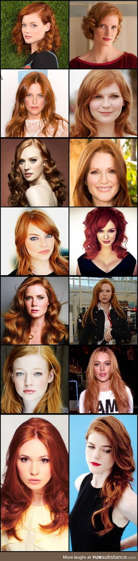 A dose of redheads