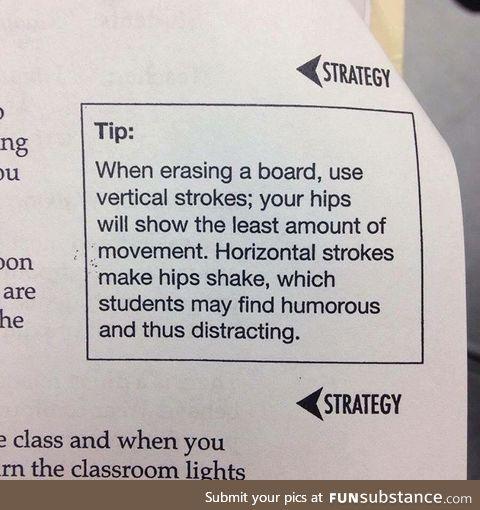 Just teacher tips