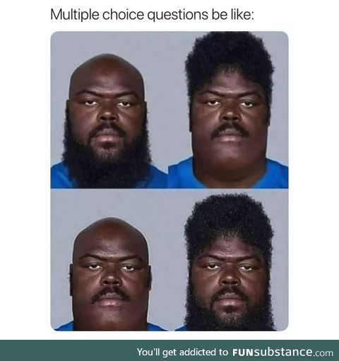 It's so hard to take a choice