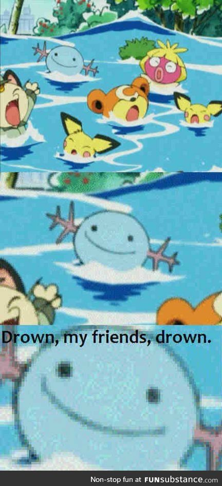 Wooper won't save you now