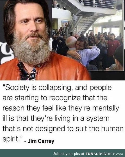 Another great quote from Jim Carrey