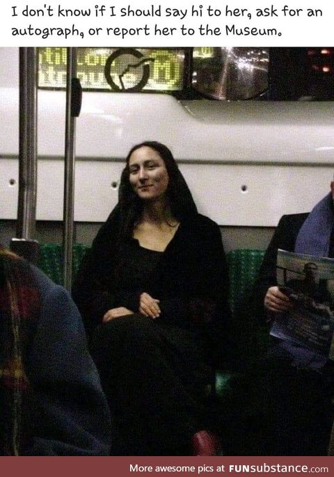 Mona is that you?