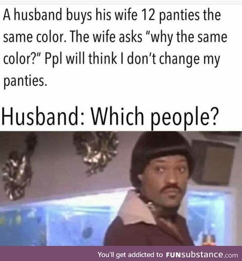 Wife: Shit!