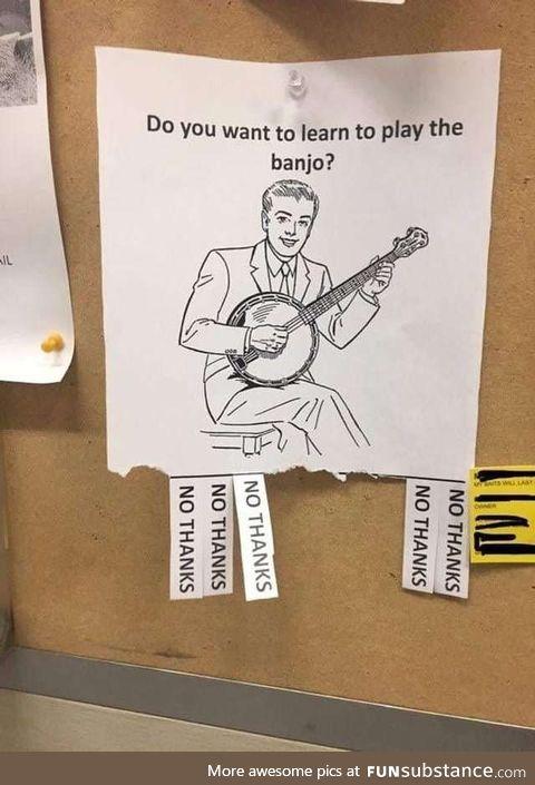 Banjo anyone ?