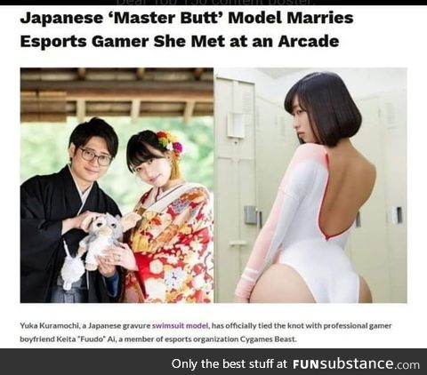 Master butter marries master bater