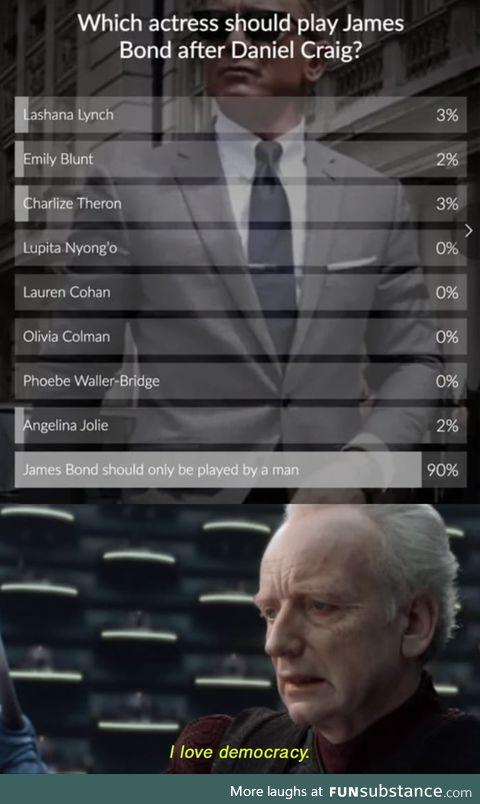 Gotta love the democracy
