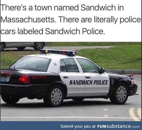 It's the PO PO ... Hurry up and eat that toast!