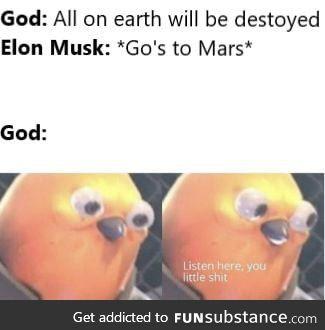 What if God said :