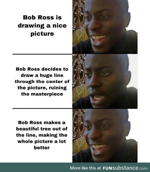 Happy birthday bob ross