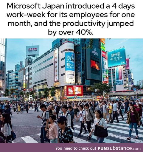 Now Stop working like donkeys, and demand change
