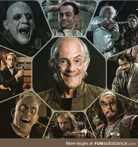 The Doc, Uncle Fester, and many more. Happy birthday Christopher Lloyd