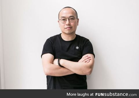 Ray Chan, the CEO and co-founder of . Now that you know, tell him to fix the f**king