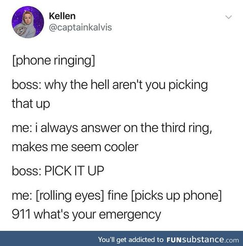 First day on the job be like