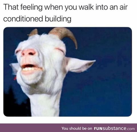 Ahh yes.. That cool breeze!