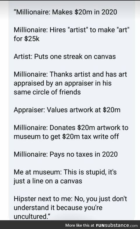 The final explanation of the shitty art
