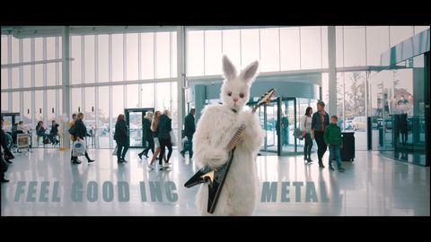 Bunny Metal!! What else do you need to know!! :)