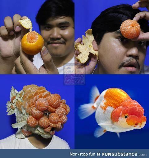 Lonelyman and his oranges