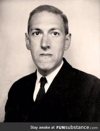 On this day 83 years ago, a legend died. Rest In Peace H.P LoveCraft.