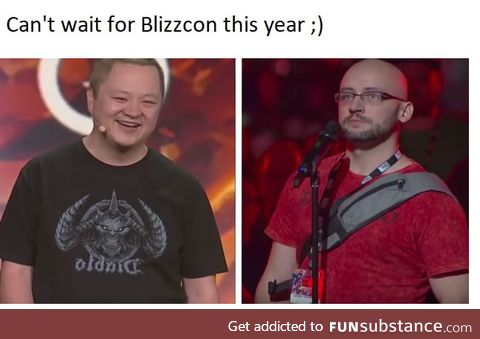 Can't wait for Blizzcon this year ;)