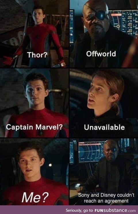 Spiderman : Kicked from home