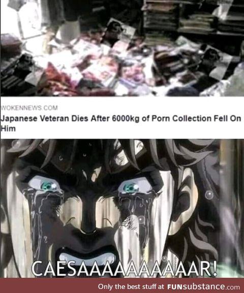 He died a hero