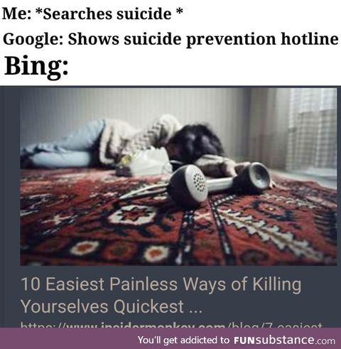 Google you useless