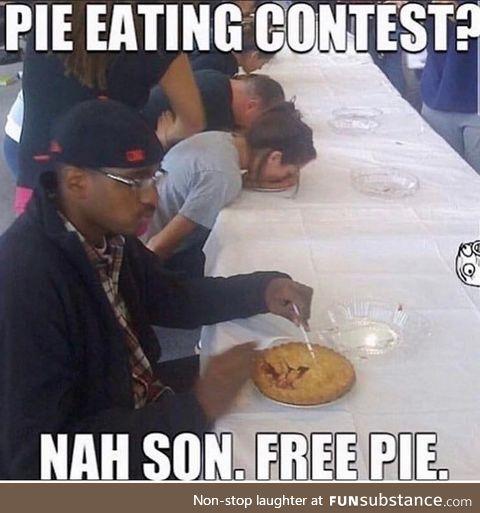 Free pie