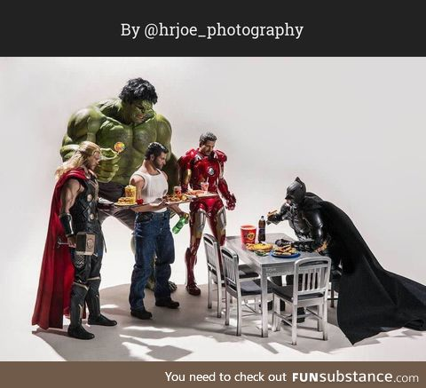 The Secret Life of Superhero Toys #4
