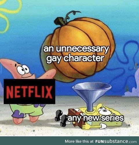 Netflix we saw you