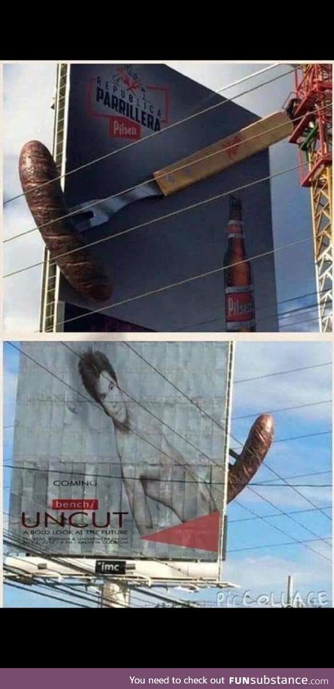 Interesting billboard right?