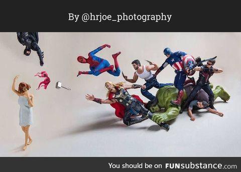 The Secret Life of Superhero Toys #8