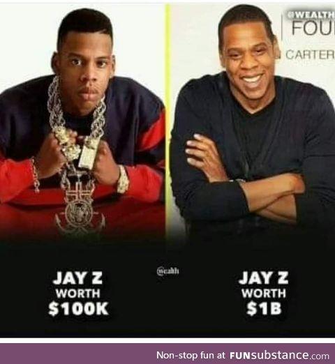 Billionaires don't swag much