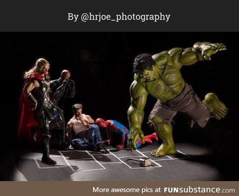 The Secret Life of Superhero Toys #9