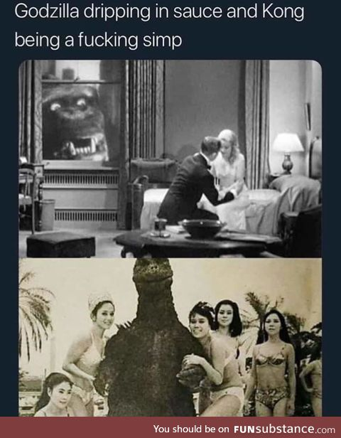 The virgin Kong vs Chadzilla