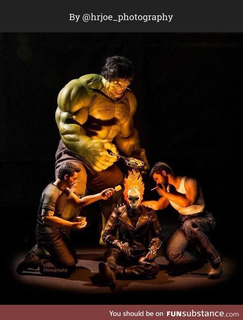 The Secret Life of Superhero Toys #10